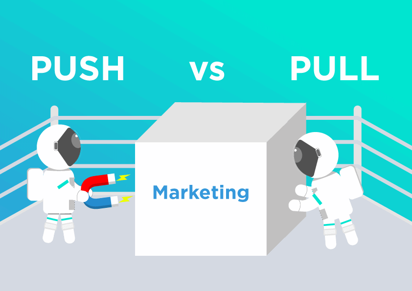 Push vs pull marketing case study