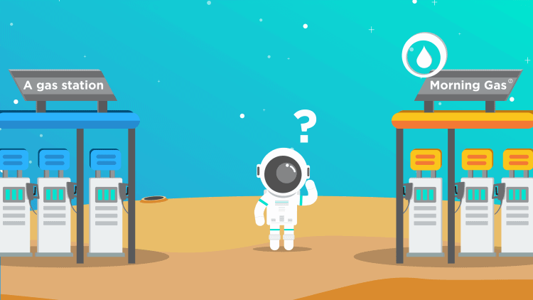 morningscore seo value post - storefront - branding - loyal spaceman