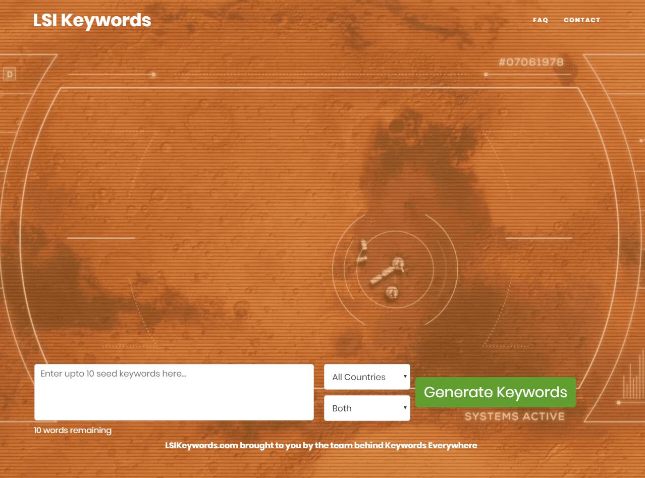LSI Keywords - long tail søgeord værktøj