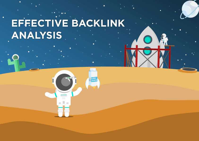 Backlink analysis is the basis of link building