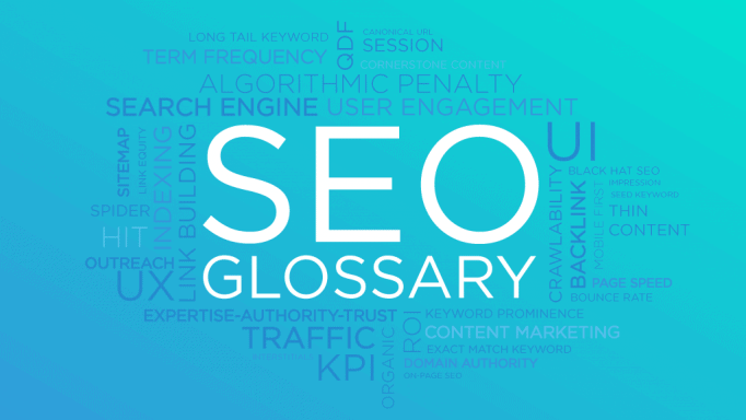 SEO glossary by Morningscore
