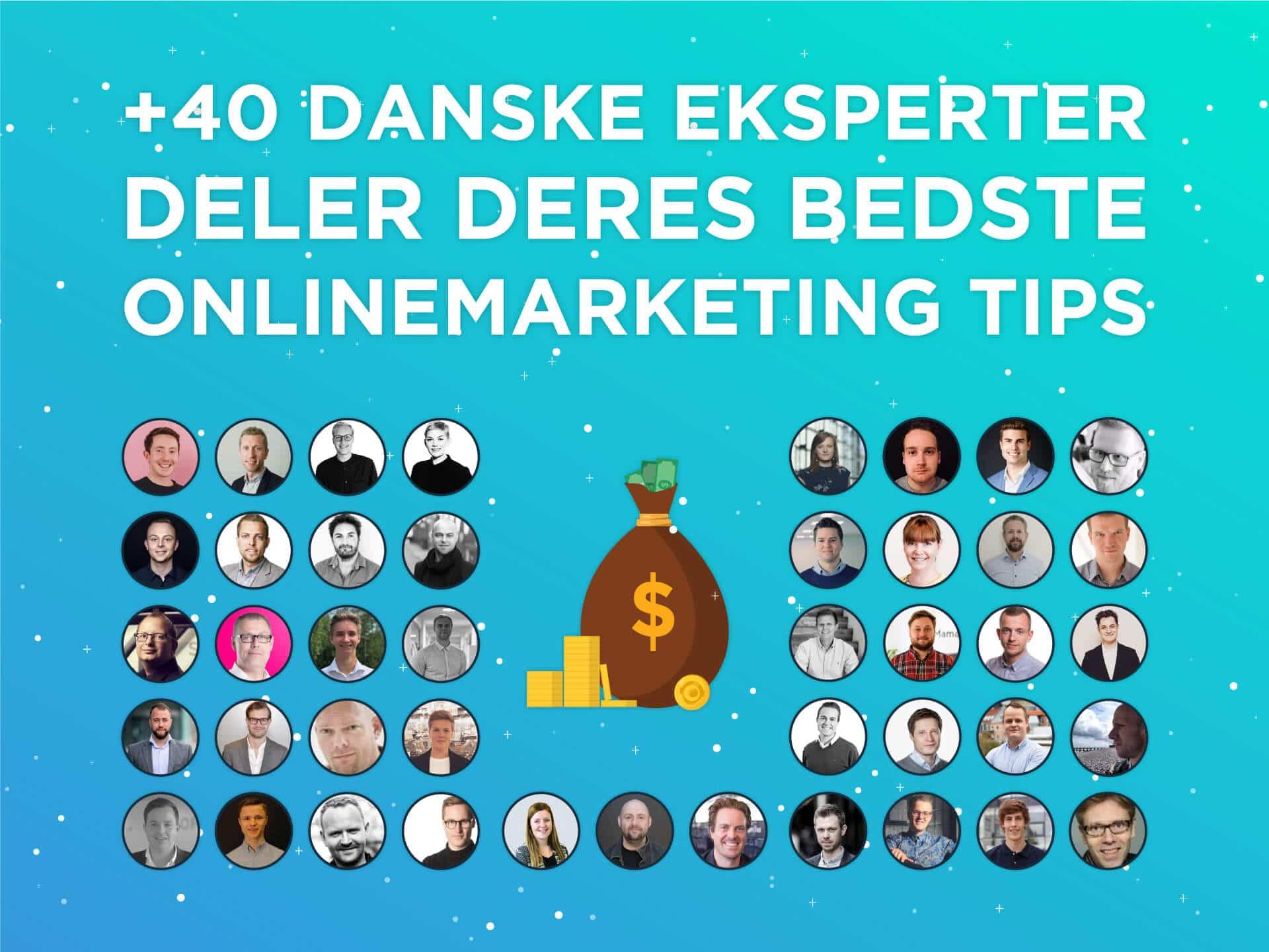 danske eksperter deler onlinemarketing tips for vækst