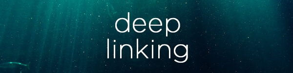 Deep linking search engine optimization words