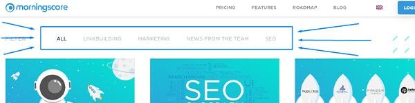 SEO silo (Content silo, Silo web structure) seo word-hoard
