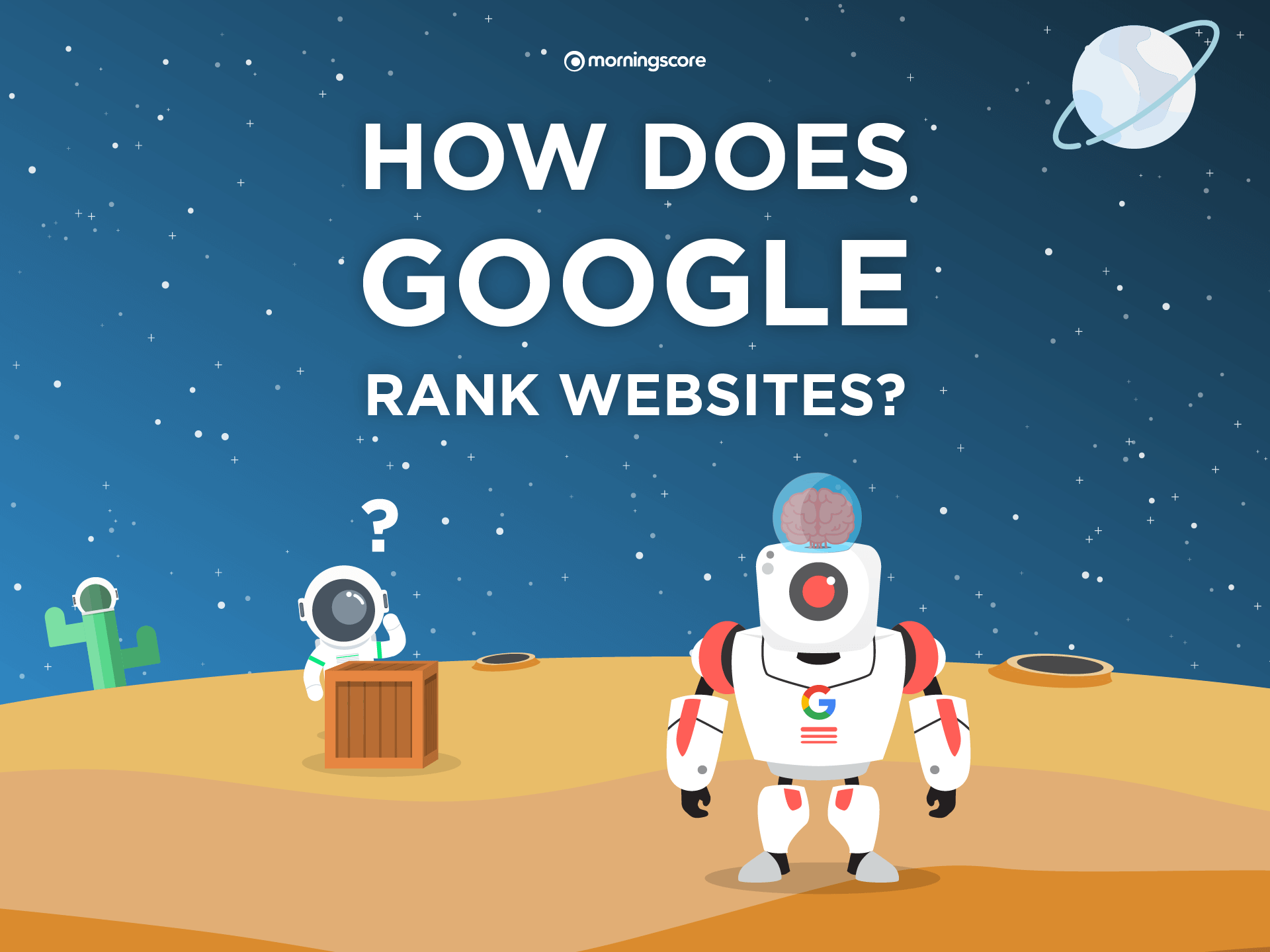 how does google rank websites explained
