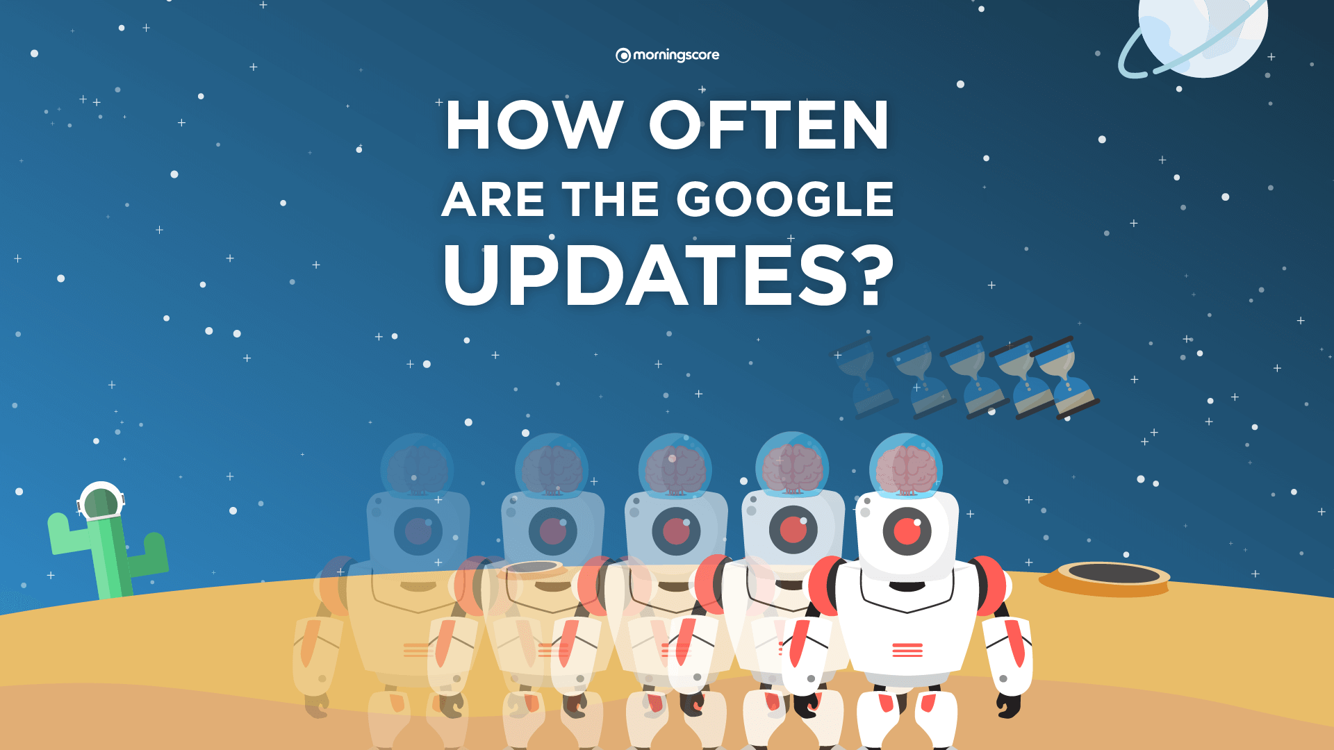 how often does google update their ranking algorithm