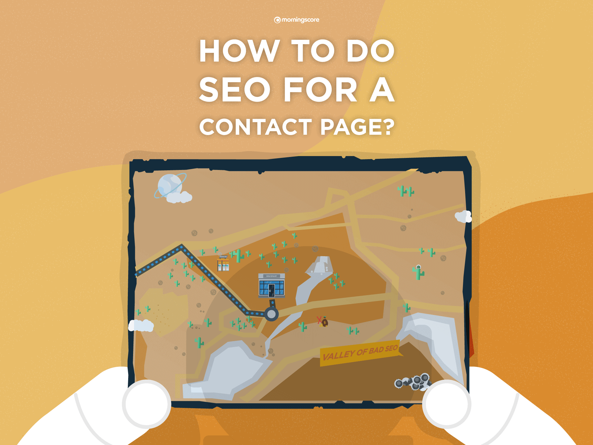 A guide to do search engine optimization of a Contact us page