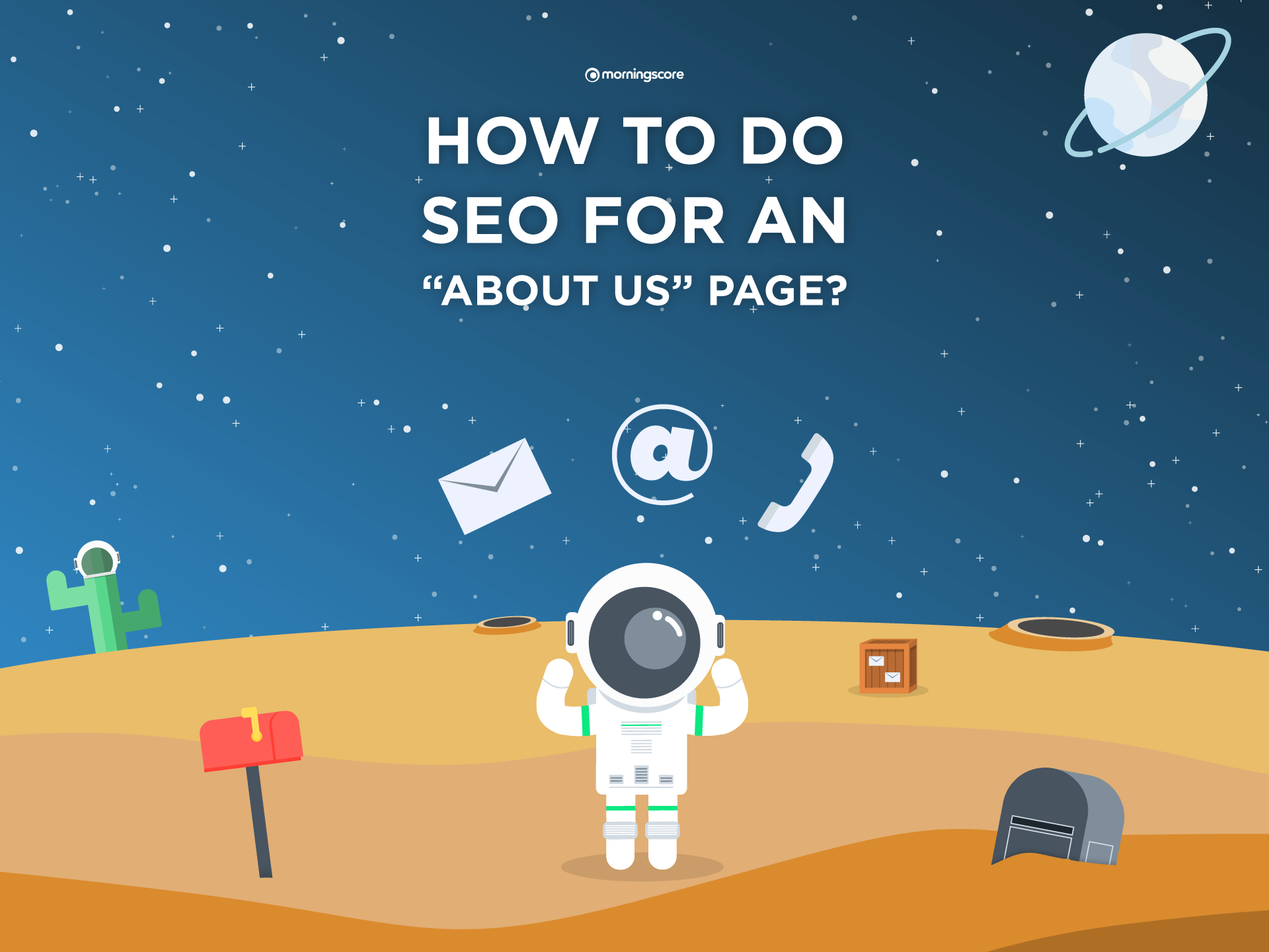 how to do about us page seo keywords