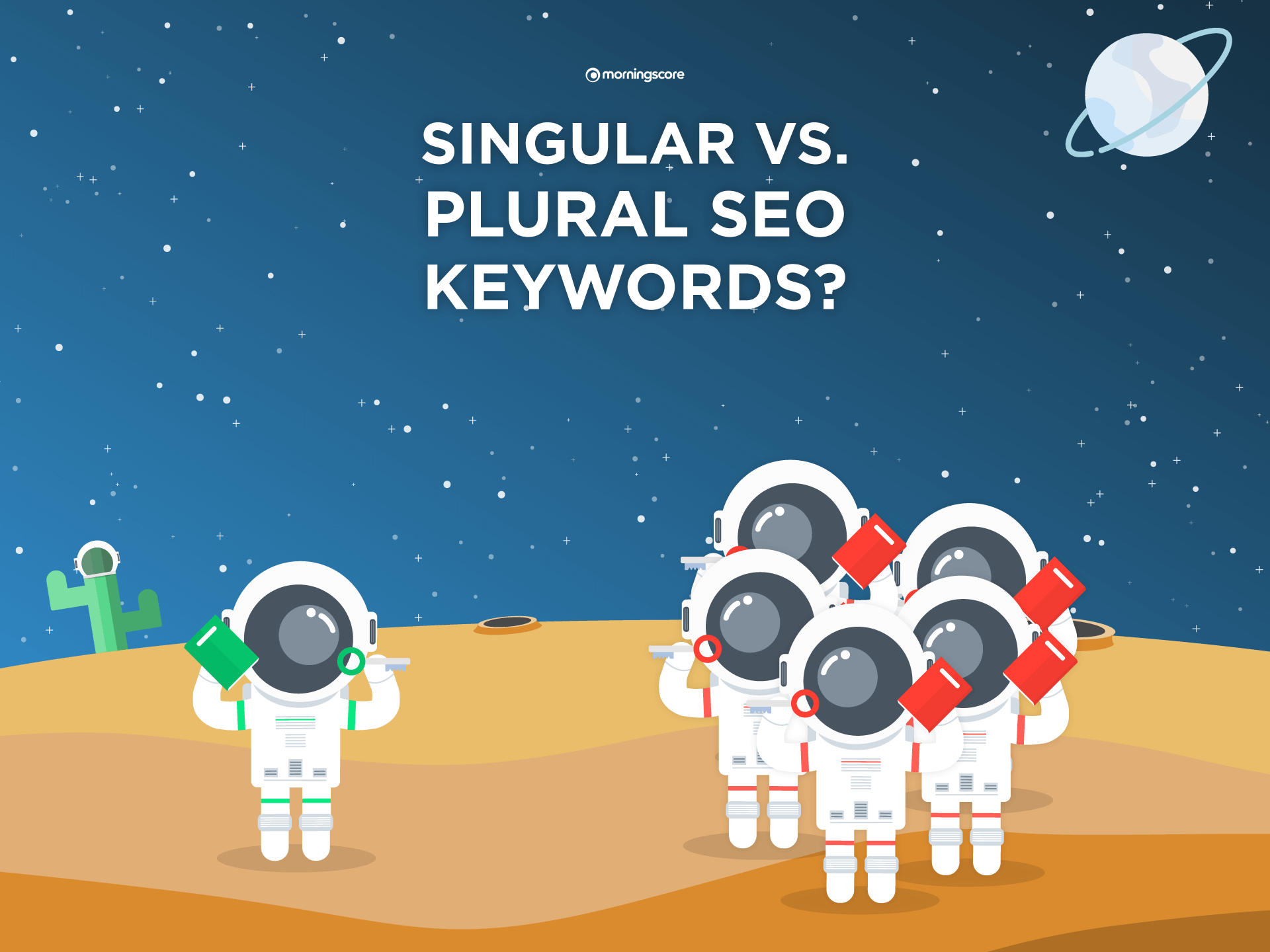 singular vs plural google seo keywords featured image