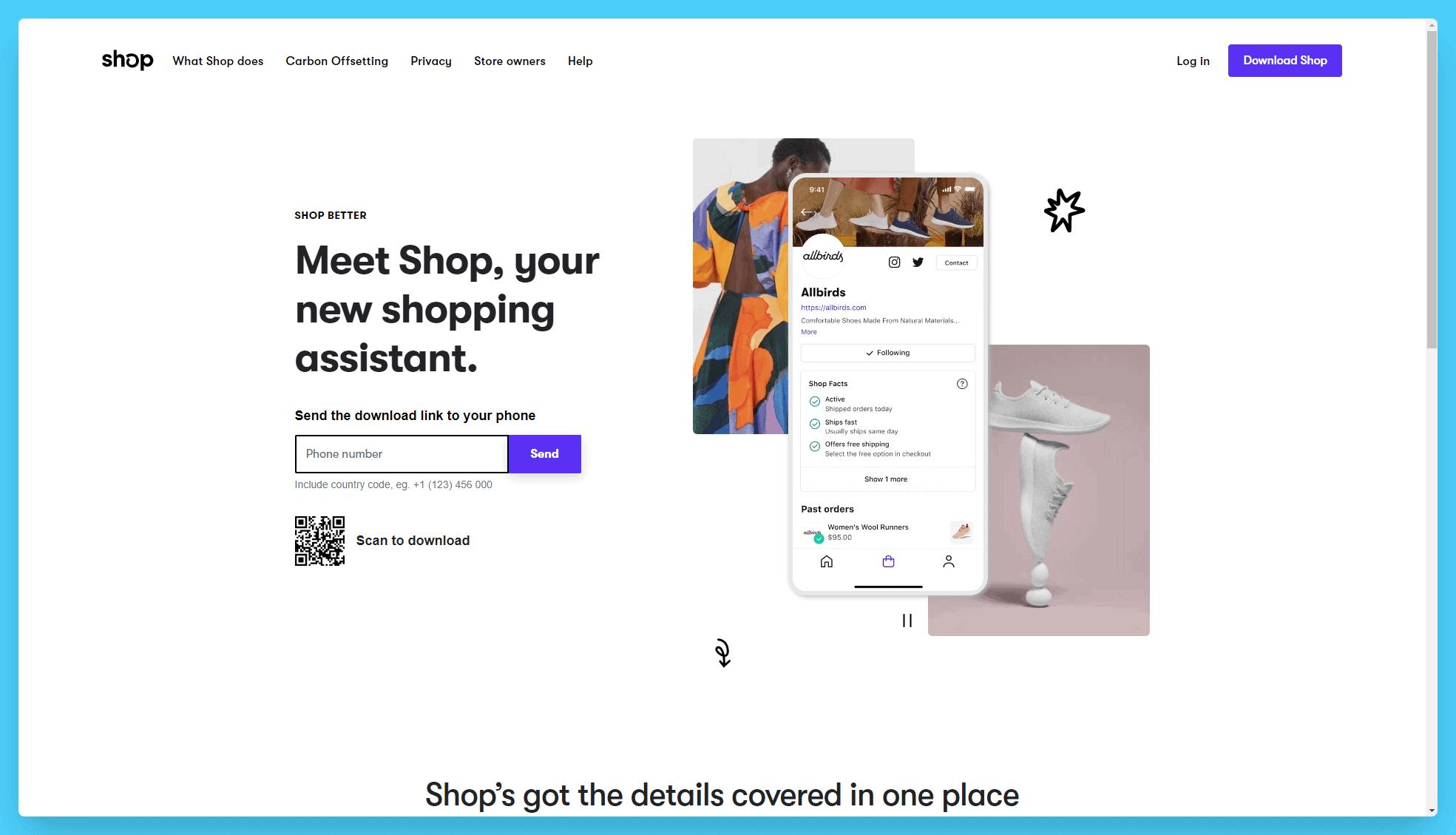 Shop Landing Page Layout SEO Tips Example SEO Copywriting