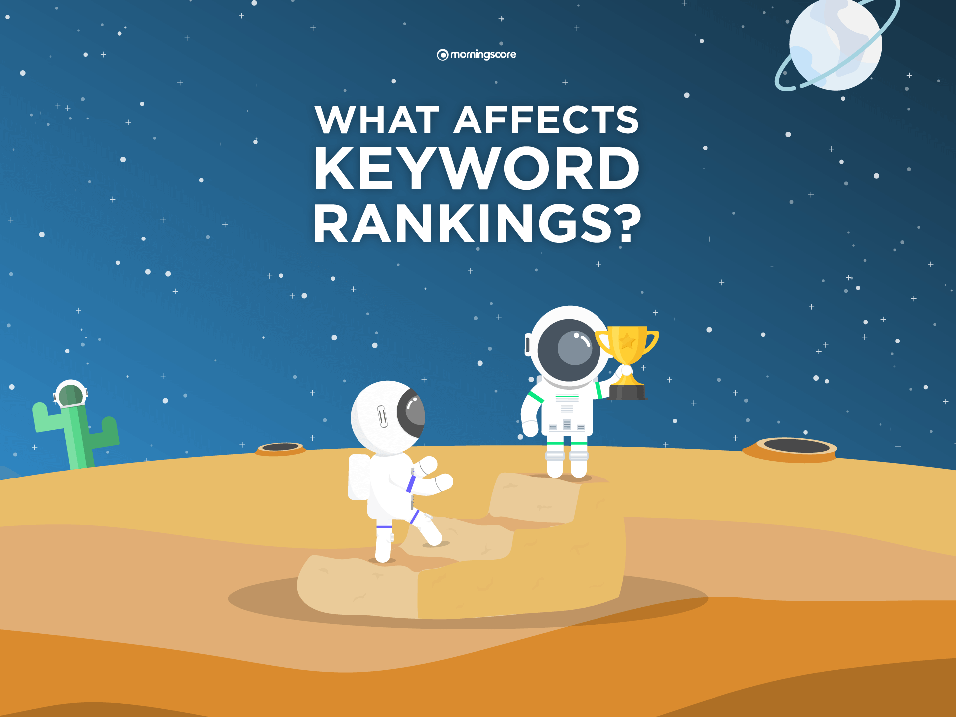what affects keyword rankings and what factors does google consider when ranking your keywords
