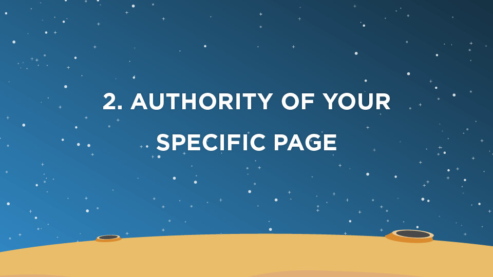 2. Authority of Your Specific Page