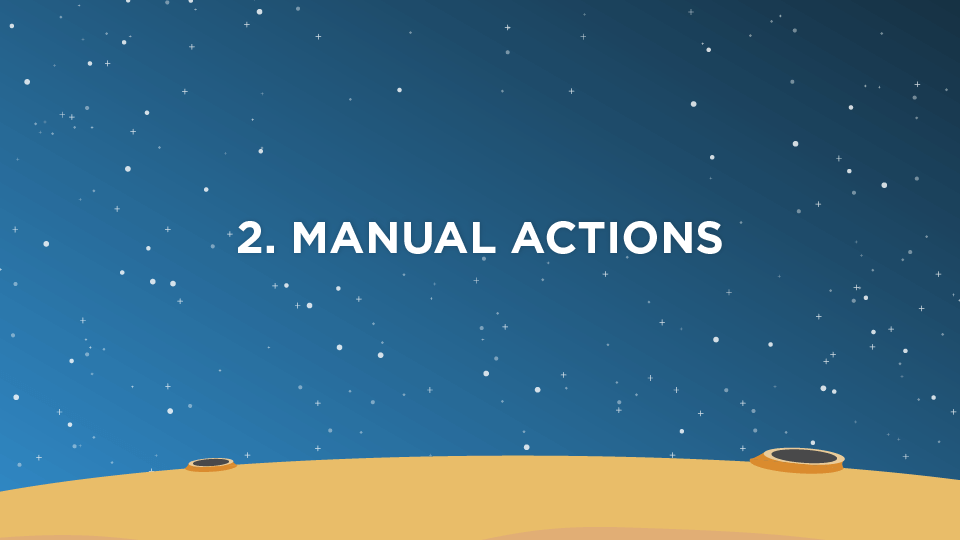 2. Manual Actions