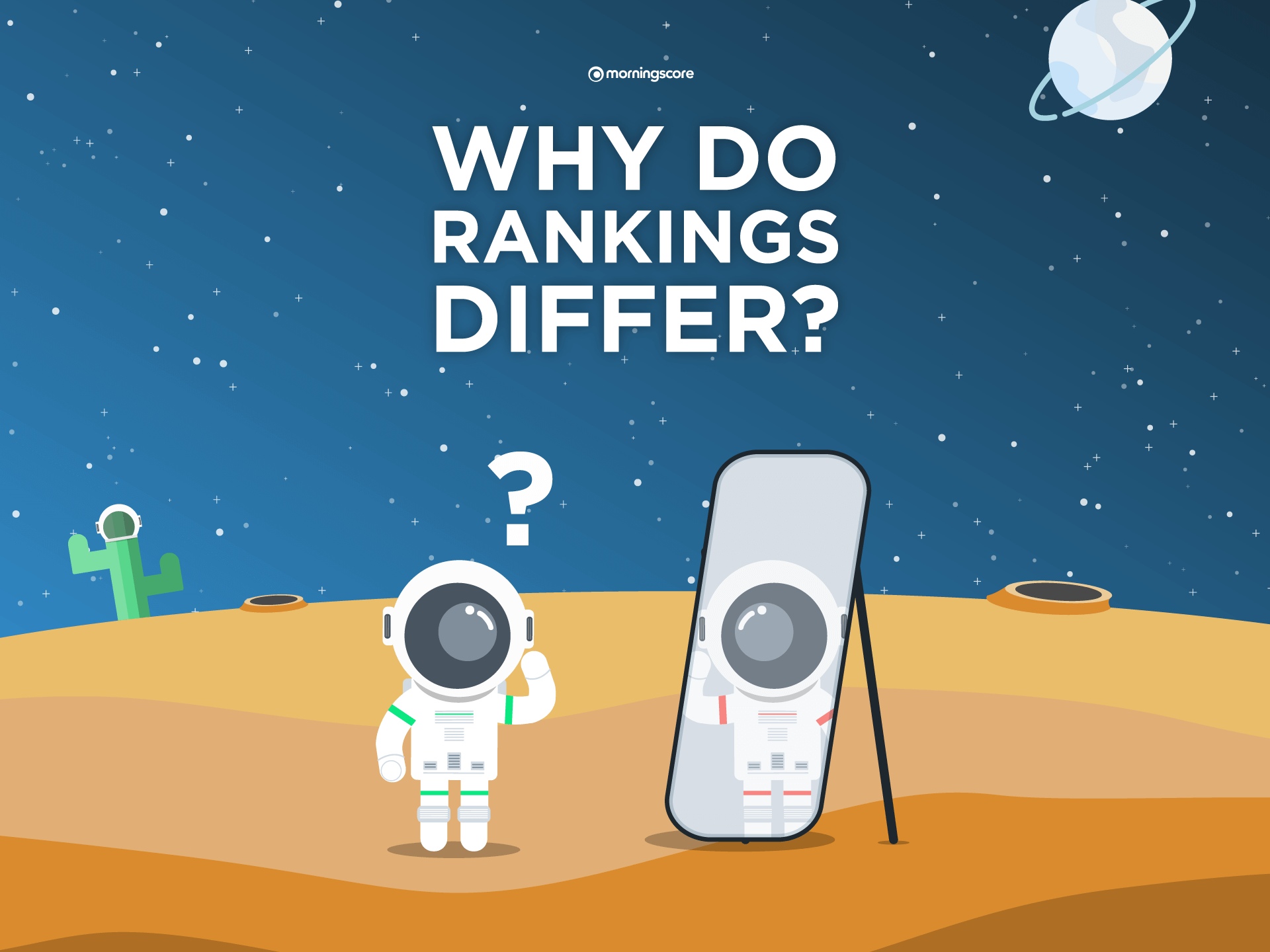 why do organic search ranking positions differ from rank tracking numbers
