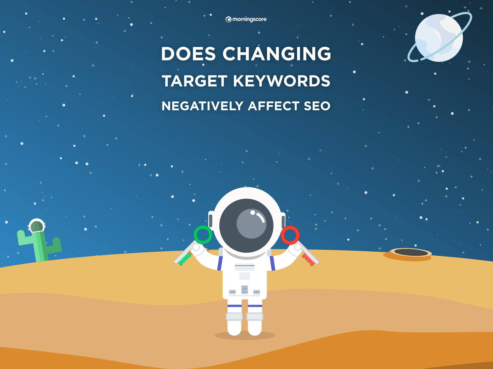 does changing target keyword negatively affect your seo