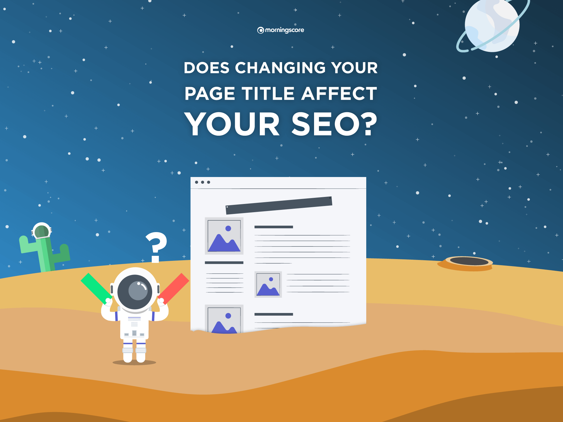 does changing your page titles affect your seo