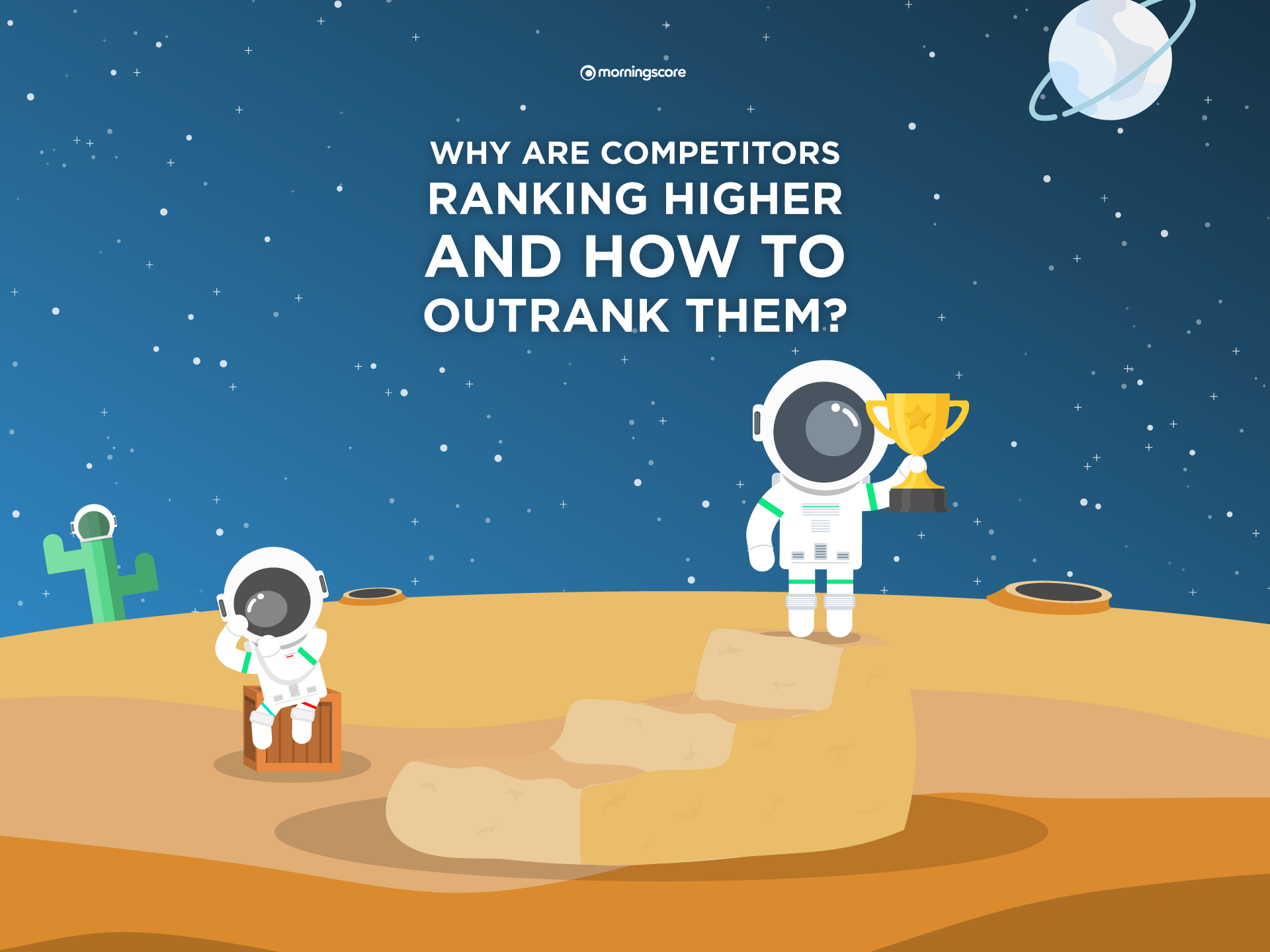 why is competitor ranking higher how to outrank competitors