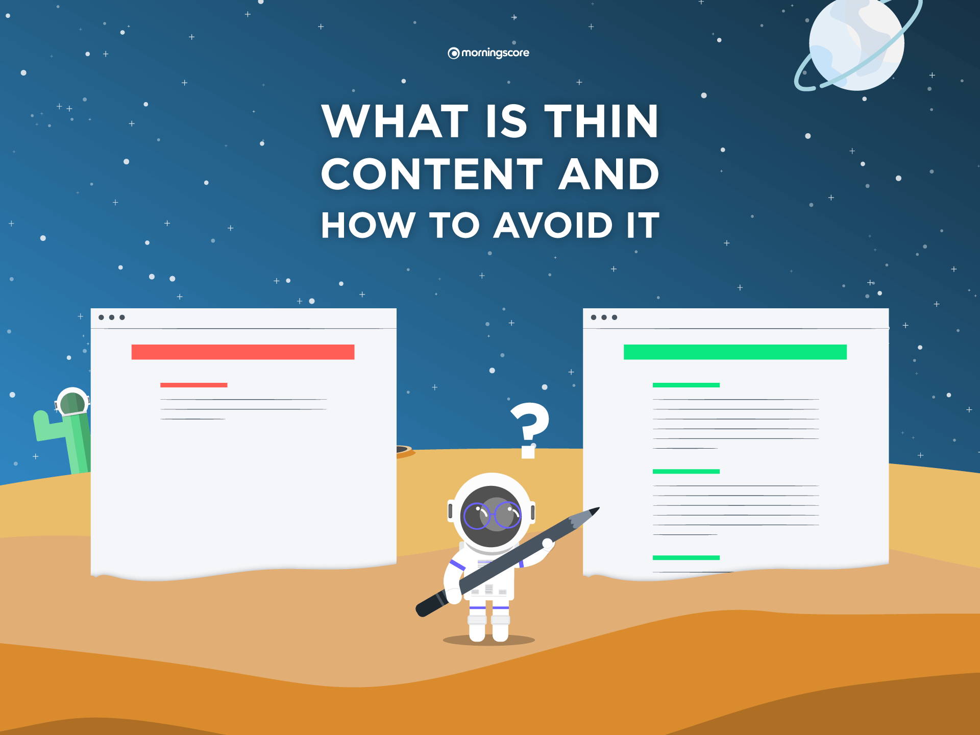 what is thin content in seo and how to avoid it