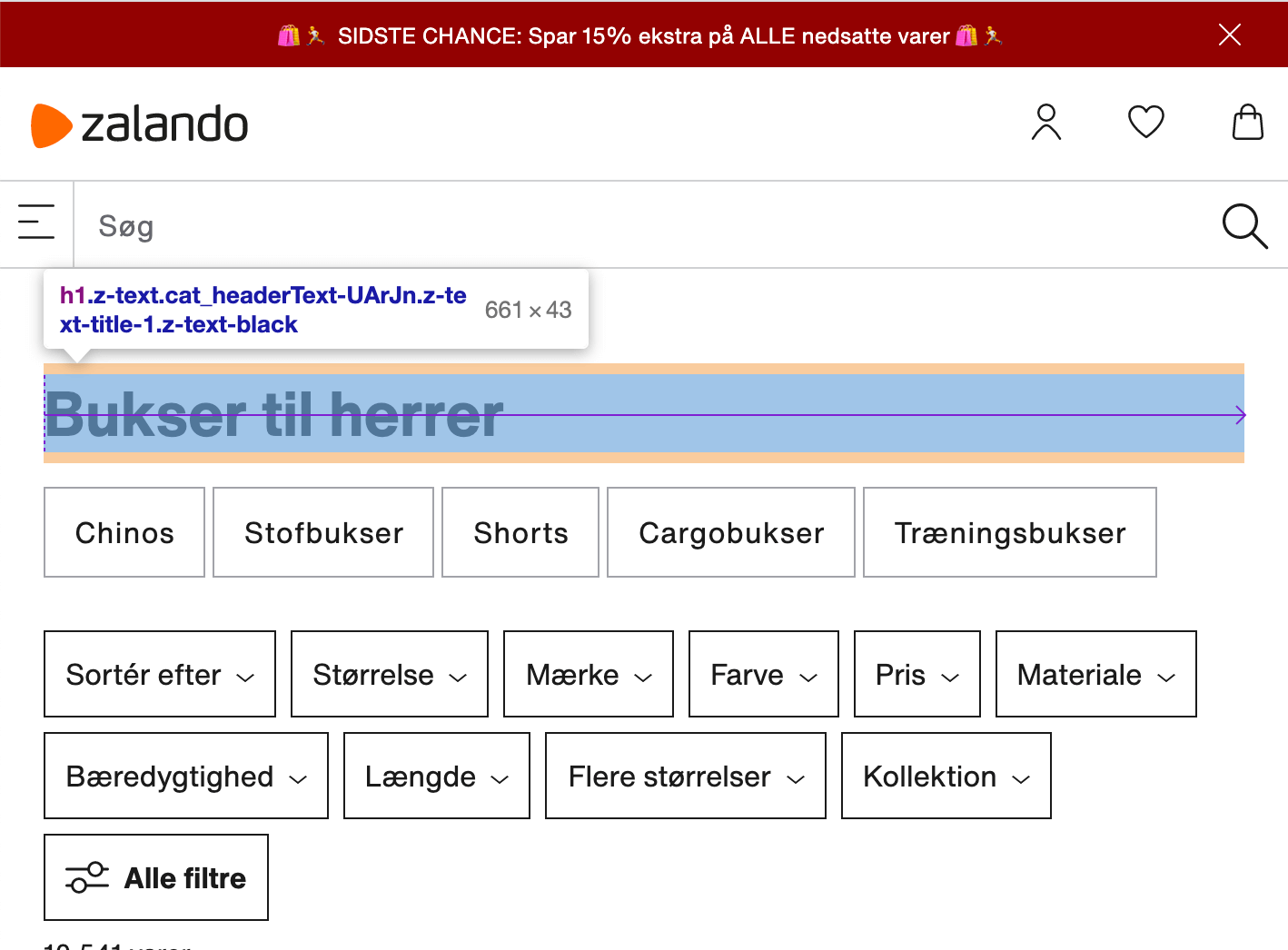Eksempler pa h1 tags zalando overskrift
