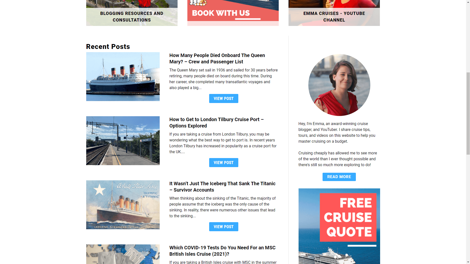 example4 seo friendly blogger design layout