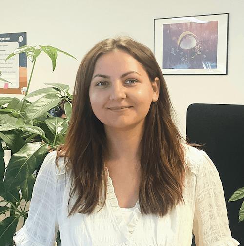 Maria Copilau Marketing and UX intern
